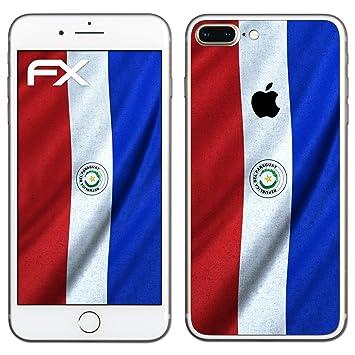"Diseño Pegatina Apple iPhone 7 Plus ""bandera de Paraguay"" ..."