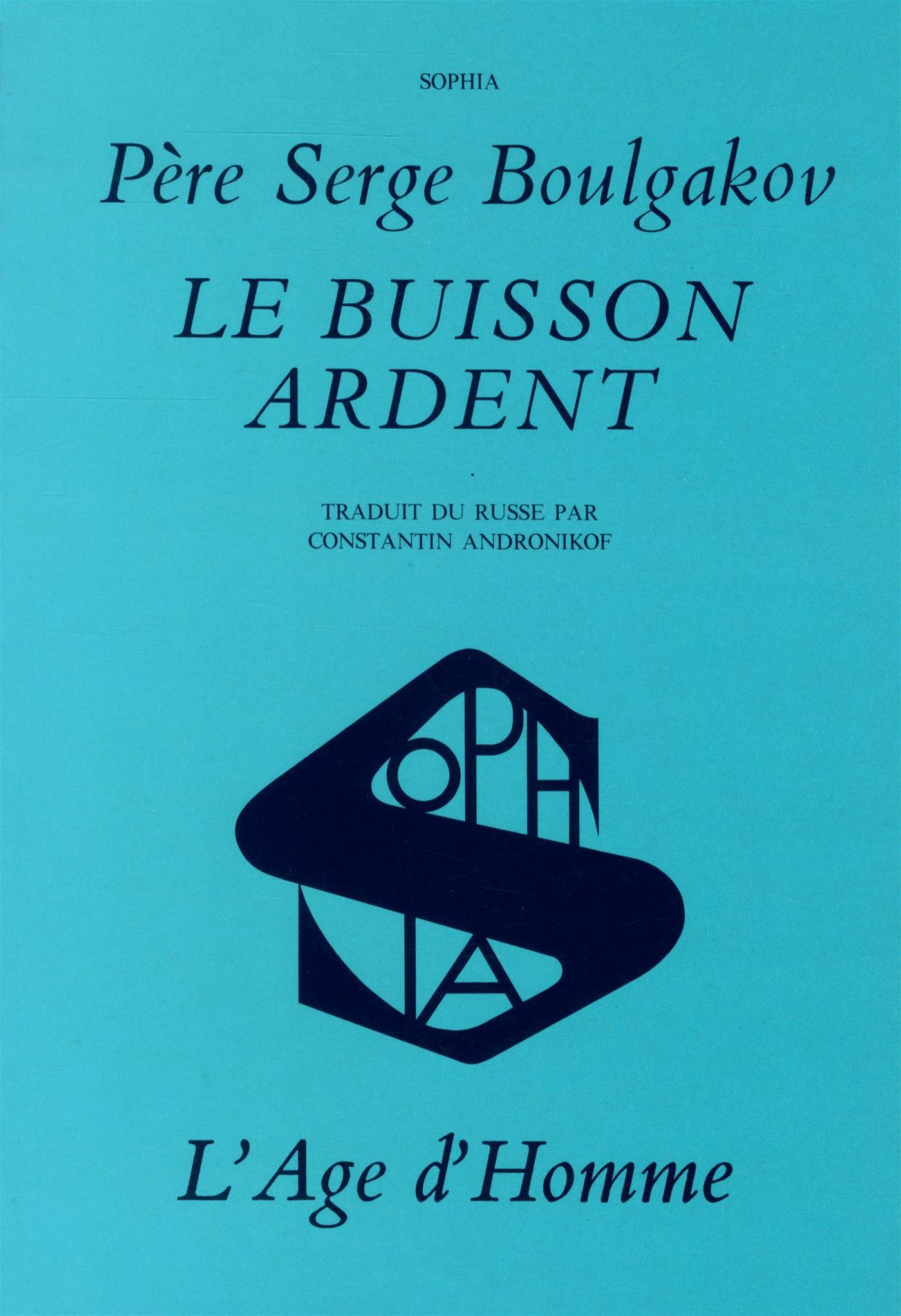 Buisson ardent (le): Amazon.es: Pere Boulgakov Serge: Libros en ...