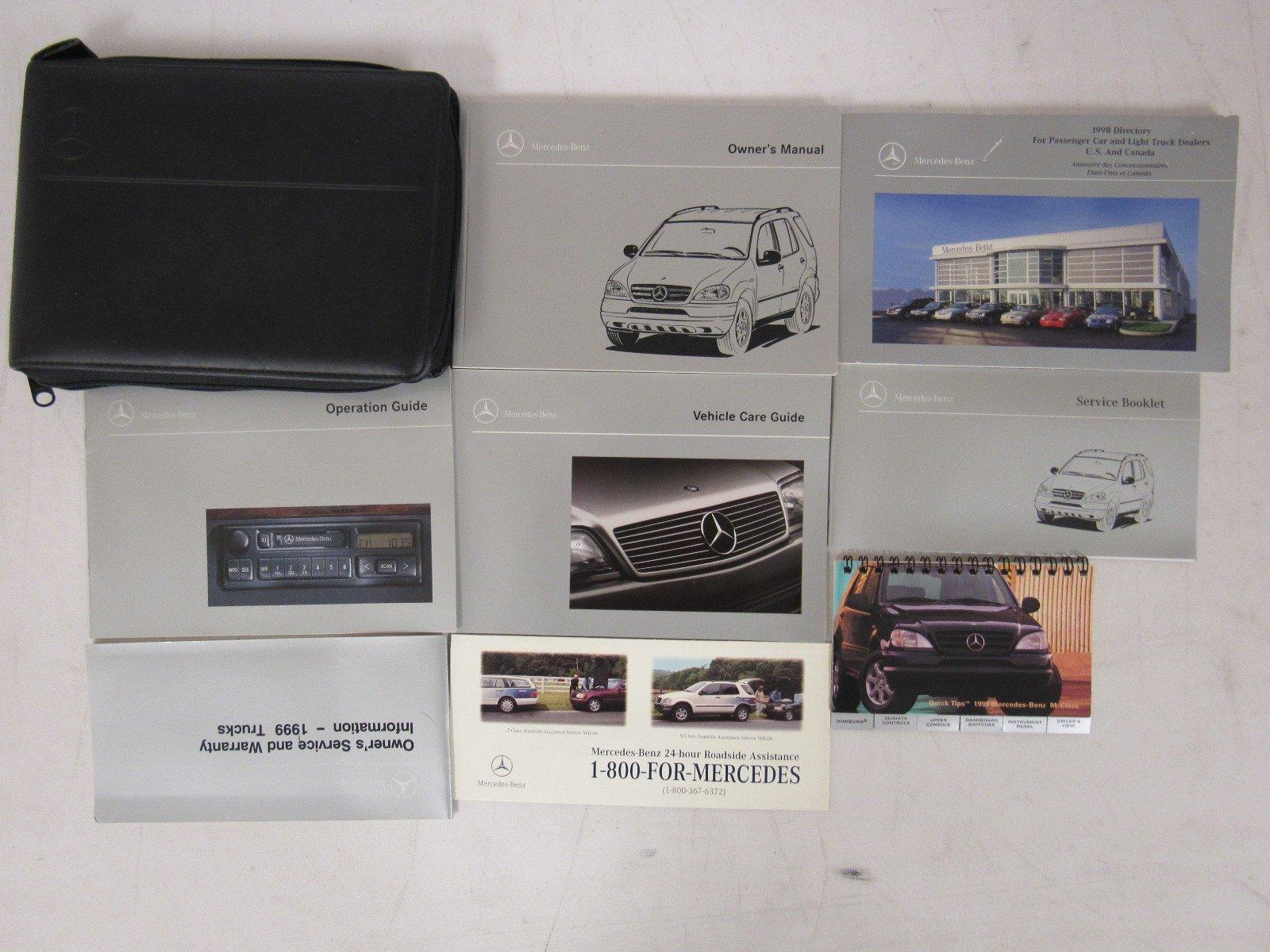 1999 Mercedes-Benz Light Truck ML 320 / 430 Owners Manual Guide Book:  Mercedes-Benz: Amazon.com: Books