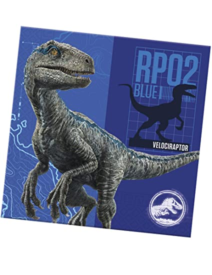 COOLMP - Lote de 6 servilletas de Papel Jurassic World 2, 33 ...