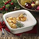 Spode Christmas Tree Square Baker