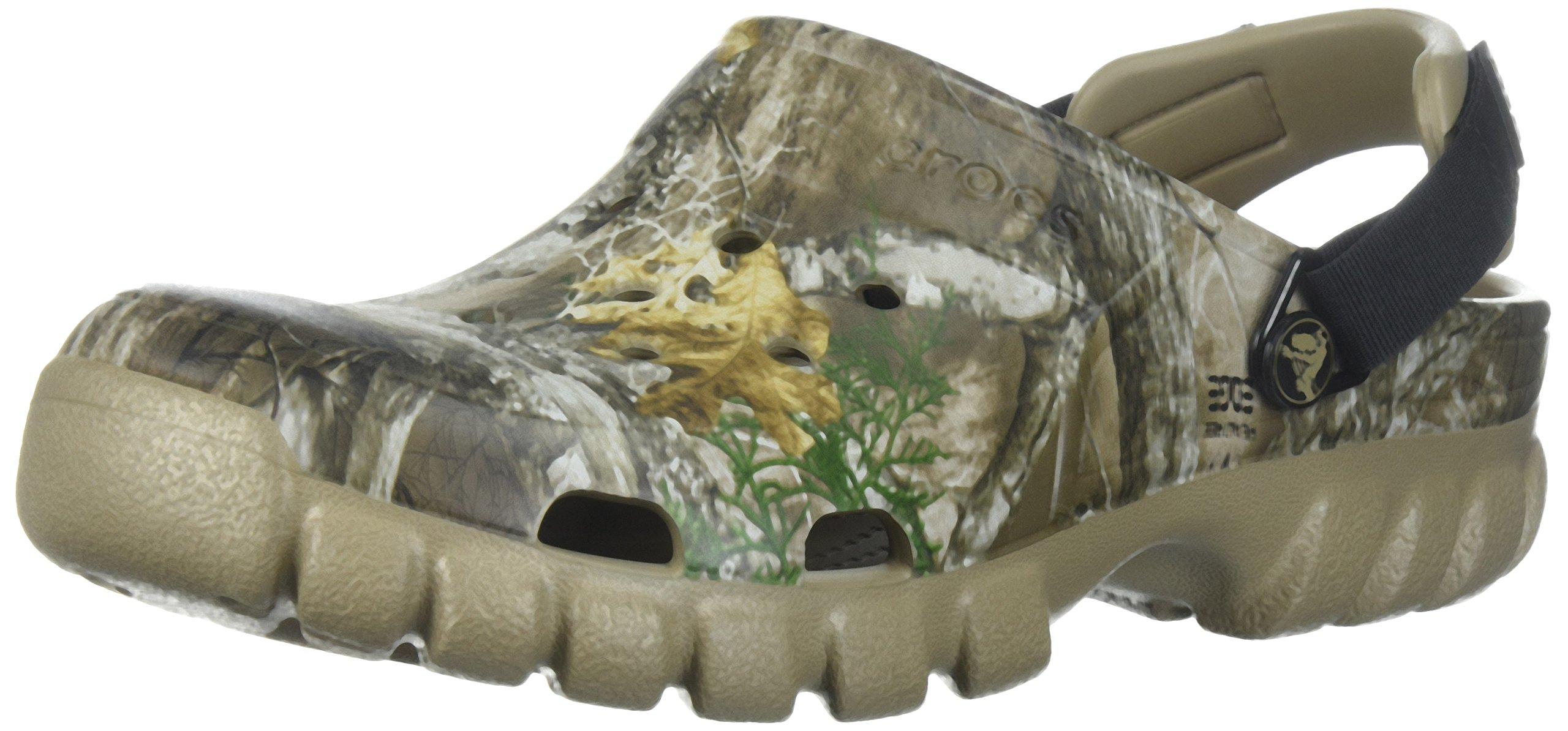 Crocs Offroad Sport Realtree EDG CLG Clog, Khaki, 12 US Women / 10 US Men