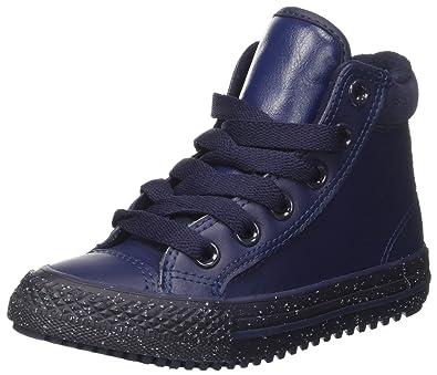 9b828b0ef4d Converse Unisex Kids  CTAS Hi Pc Leather Top Trainers  Amazon.co.uk ...