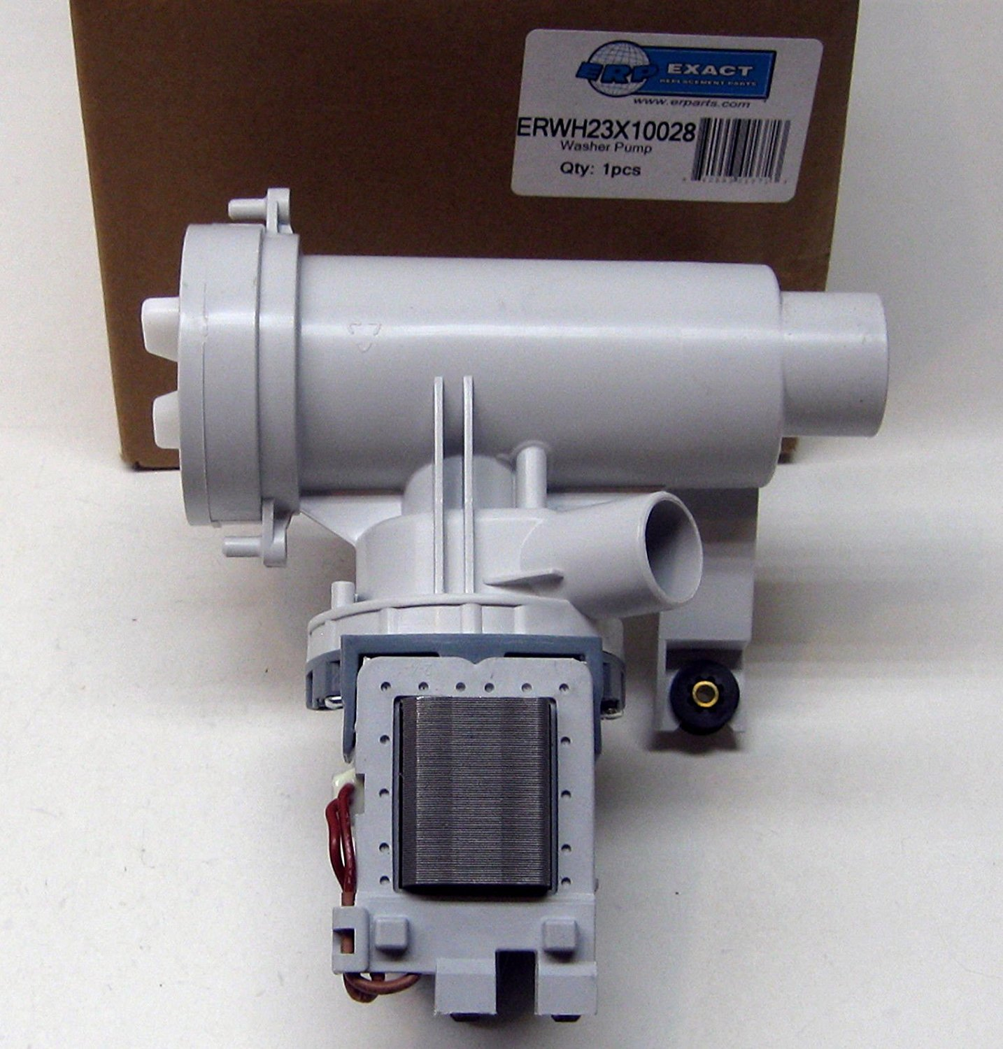 PS1766031 AP4324598 Washer Drain Pump /& Motor for General Electric WH23X10028