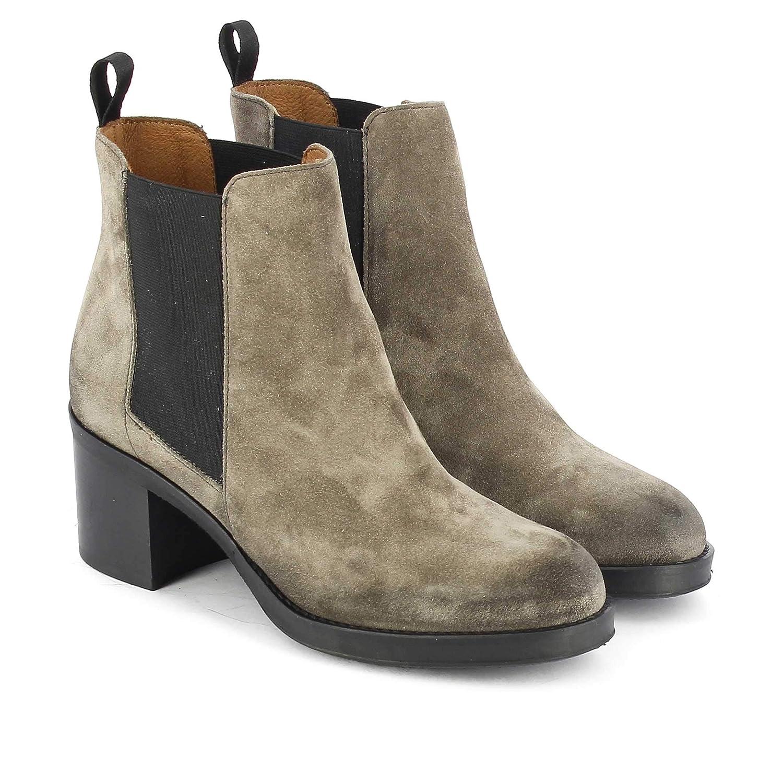 Frau 81B4 Nerz Beige Schuhe Schuhe Schuhe Stiefeletten