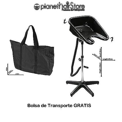 Lavacabezas Portátil PlanetHair® Store Tamaño Normal regulable en altura y basculante con bolsa de transporte