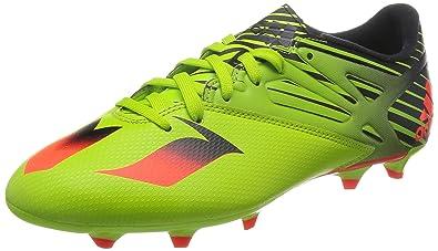 more photos 94fe9 623f9 adidas Messi 15.3, Chaussures de Football Homme, Jaune (Semi SlimeSolar Red