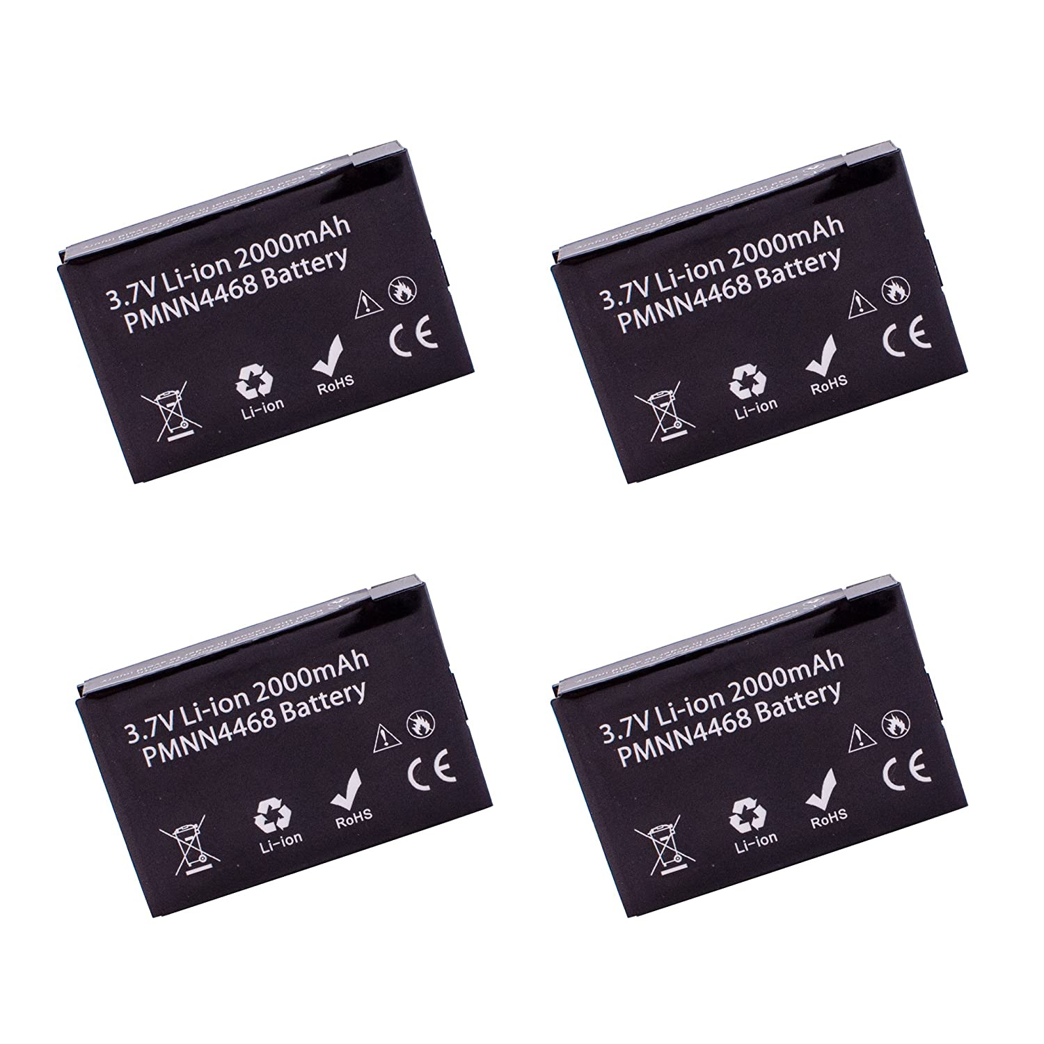 4 Pack ArrowMax AMCL4468-2000-D PMNN4468A PMNN4468 Li-ion Battery for Motorola SL300 (2000 mAh) 81bcjlvrTDL._SL1500_