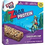 CLIF KID ZBAR PROTEIN - Protein Bar - Chocolate Chip - (1.27 oz, 5 Count)