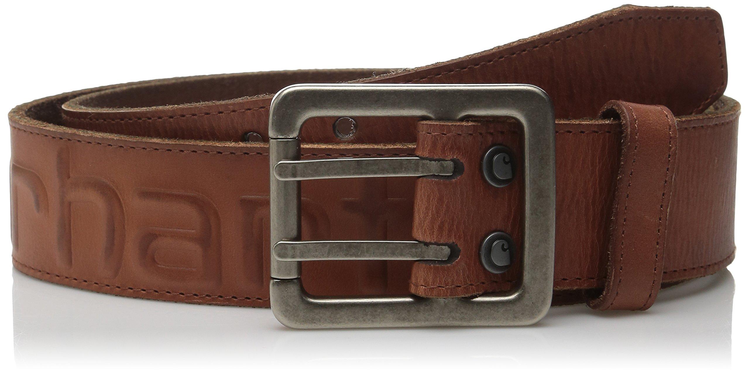 Carhartt Men's Logo Belt,Brown,36