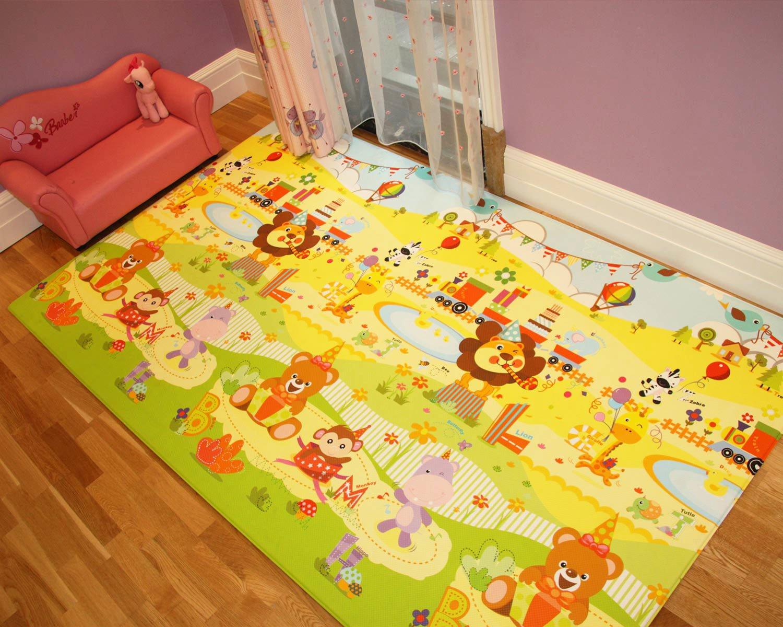 Babylynn Baby Play Mat Kids Play Mat Infant Play Mat Foam Mat Floor Mat Play Mat Non Toxic Play Mat