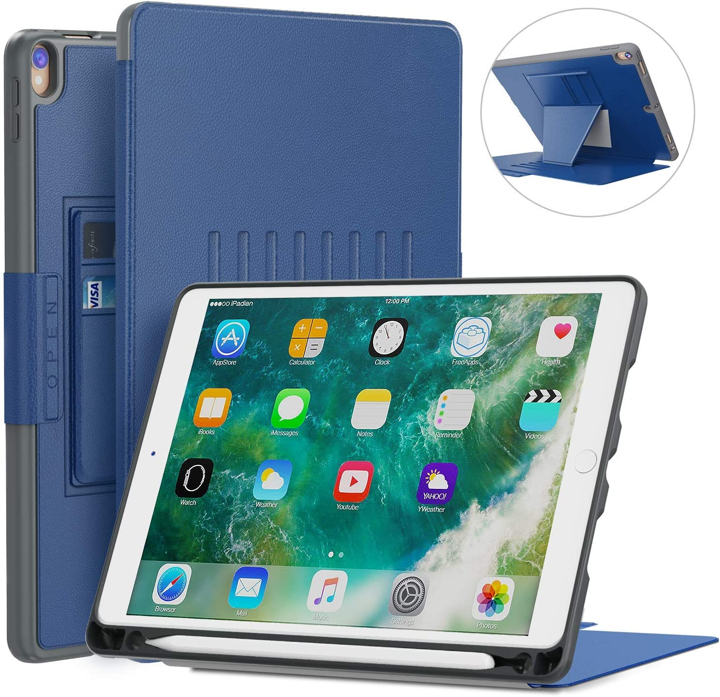 Amazon coupon code for iPad Case Magnetic Stand Full Body Protective Rugged Shockproof Case