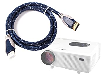 DURAGADGET Cable HDMI De Audio Y Vídeo para Yaufey 1000 Lumens ...
