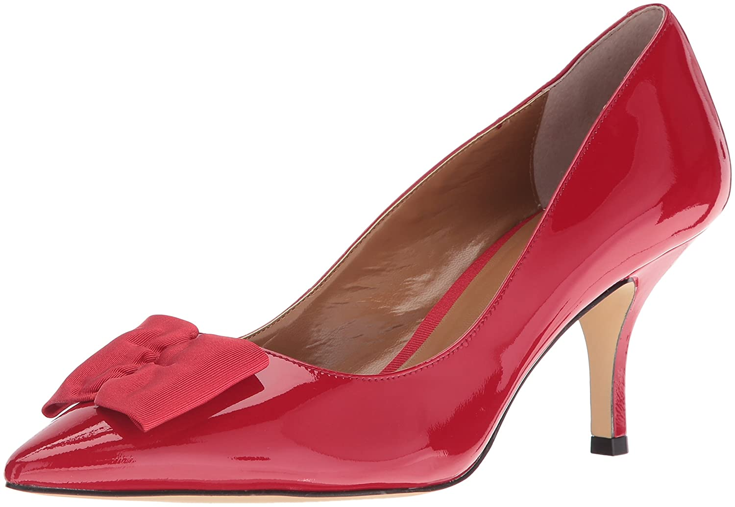 J.Renee Women's Camley Dress Pump B01CL1UQPE 12 W US|Red