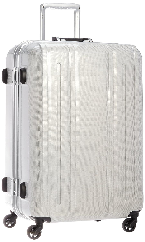 [エバウィン] 軽量スーツケース Be Light 静音キャスター 容量82L 縦サイズ69cm 重量4.2kg 31226  ホワイトカーボン B00HR0RFHW