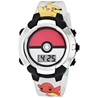 Boys' Quartz Watch with Rubber Strap, Multicolor, 13 (Model: POK4245AZ)