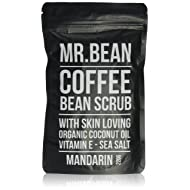 MRBEANBODY Coffee Bean Scrub, Mandarin, 220 Gram