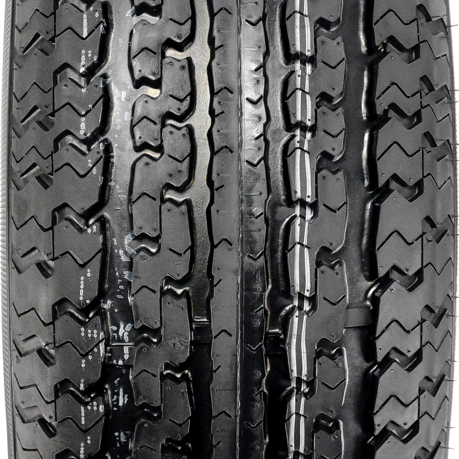 10 Ply ST225//75R15 117//112N E CargoMax YT301 Steel Belted Radial Trailer Tires FOUR Set of 4