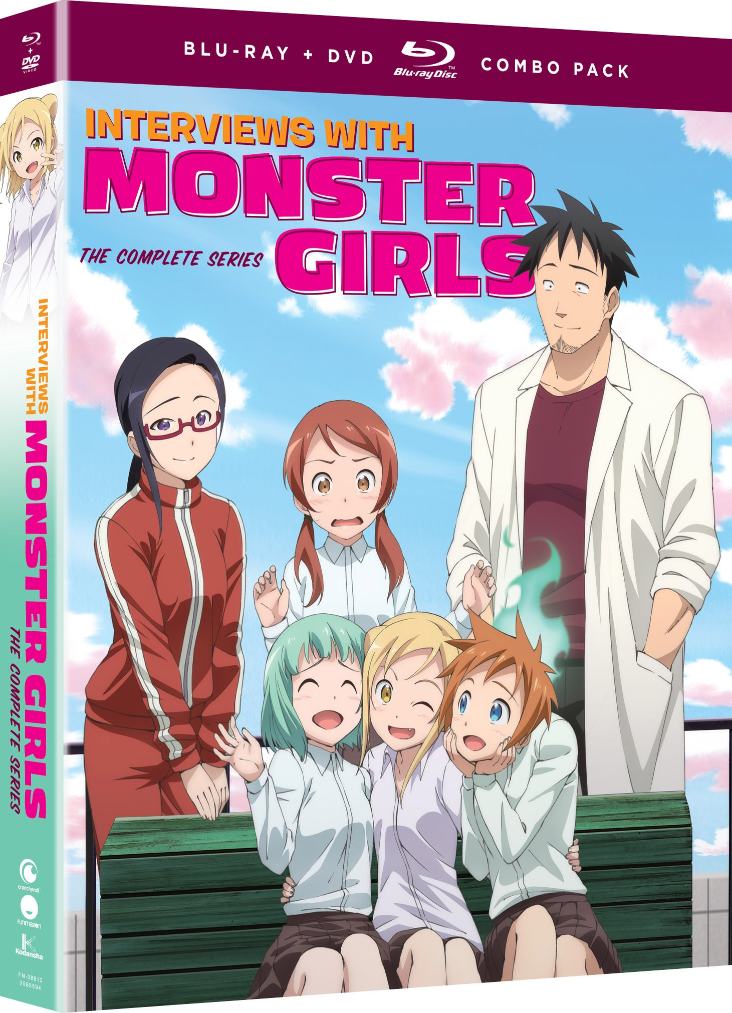 Blu-ray : Interview With Monster Girls: The Complete Series (With DVD, Boxed Set, 4PC)