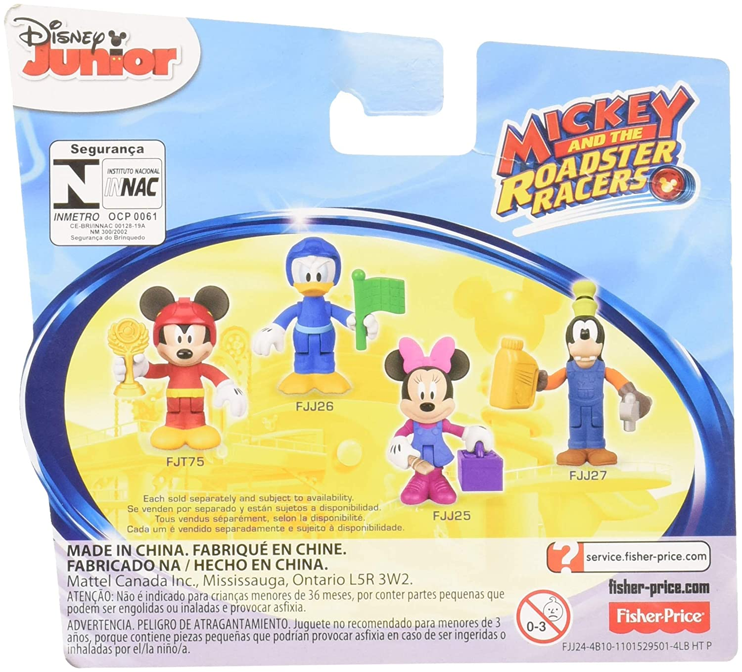 Amazon.com: Fisher-Price Disney Mickey & The Roadster Racers, Mechanic Mickey: Toys & Games