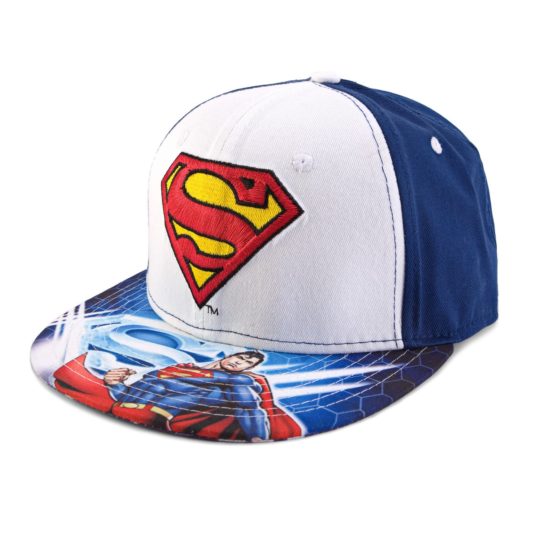 DC Comics Superman Sublimated Logo Snapback Gorra de béisbol ...
