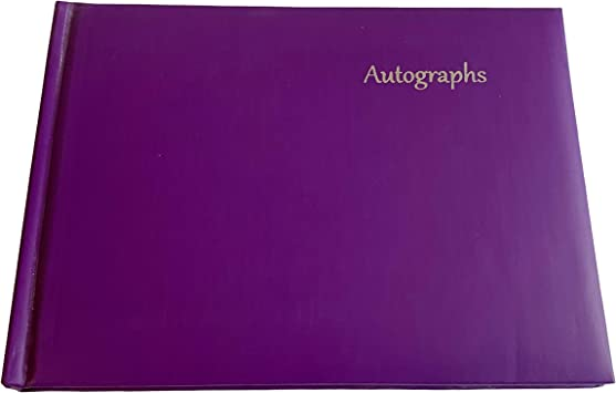 Pink Autograph Book by Janrax Signature End of Term School Leavers