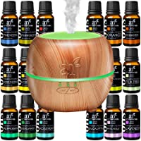 ArtNaturals Aromatherapy Essential Oil and Diffuser Gift Set - (150ml Tank & Top...