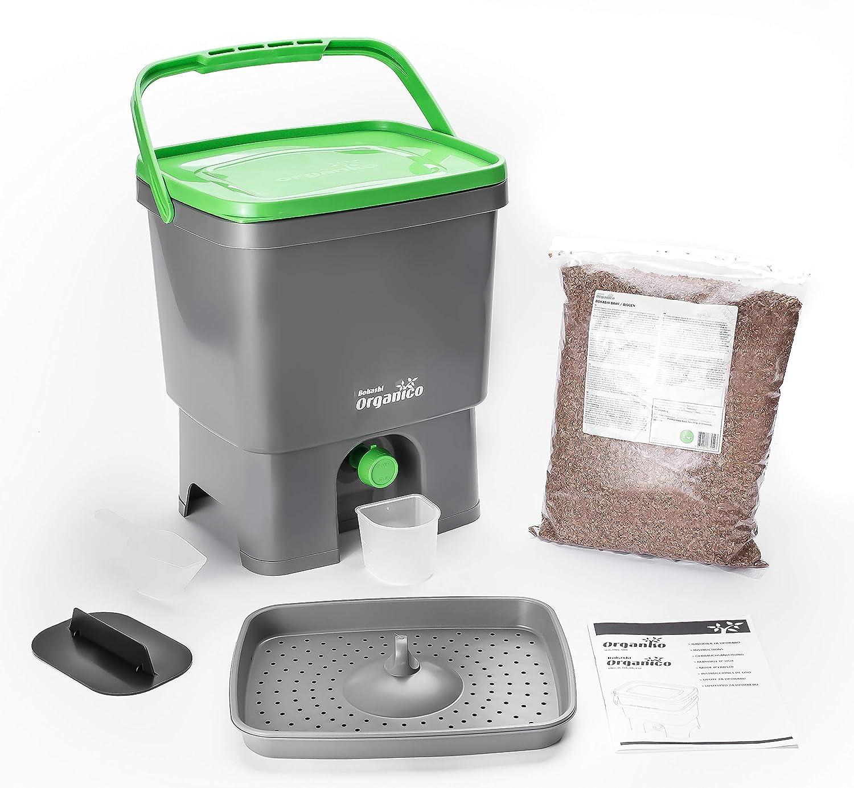 Bokashi Organico Juego - innovadora bio Cubo de basura para basura ...