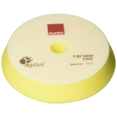 Rupes Yellow Fine Polishing Foam Pad (2-Pack) - 180mm (7 Inch): Automotive