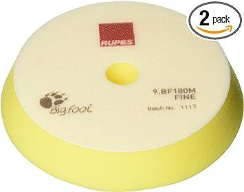 For 180mm Backing Rupes Yellow Medium Wool Cutting /& Polishing Pad