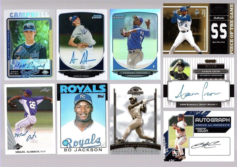 Amazoncom Bigboyd Sports Cards Kansas City Royals 30 Card Lot Bo