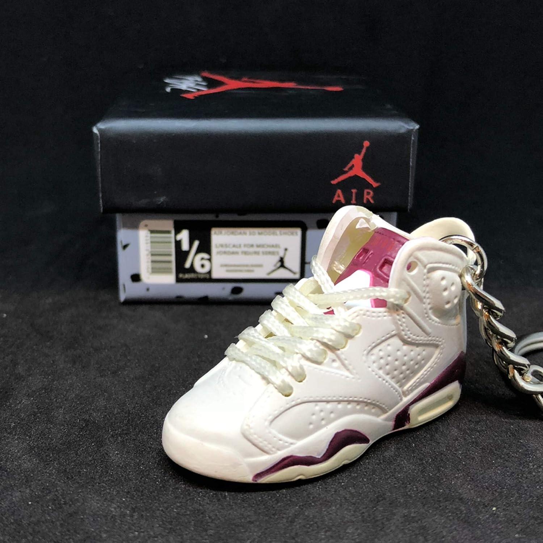 competitive price 4ece5 e5cbc Amazon.com : Air jordan VI 6 Retro Maroon Off White Sneakers ...
