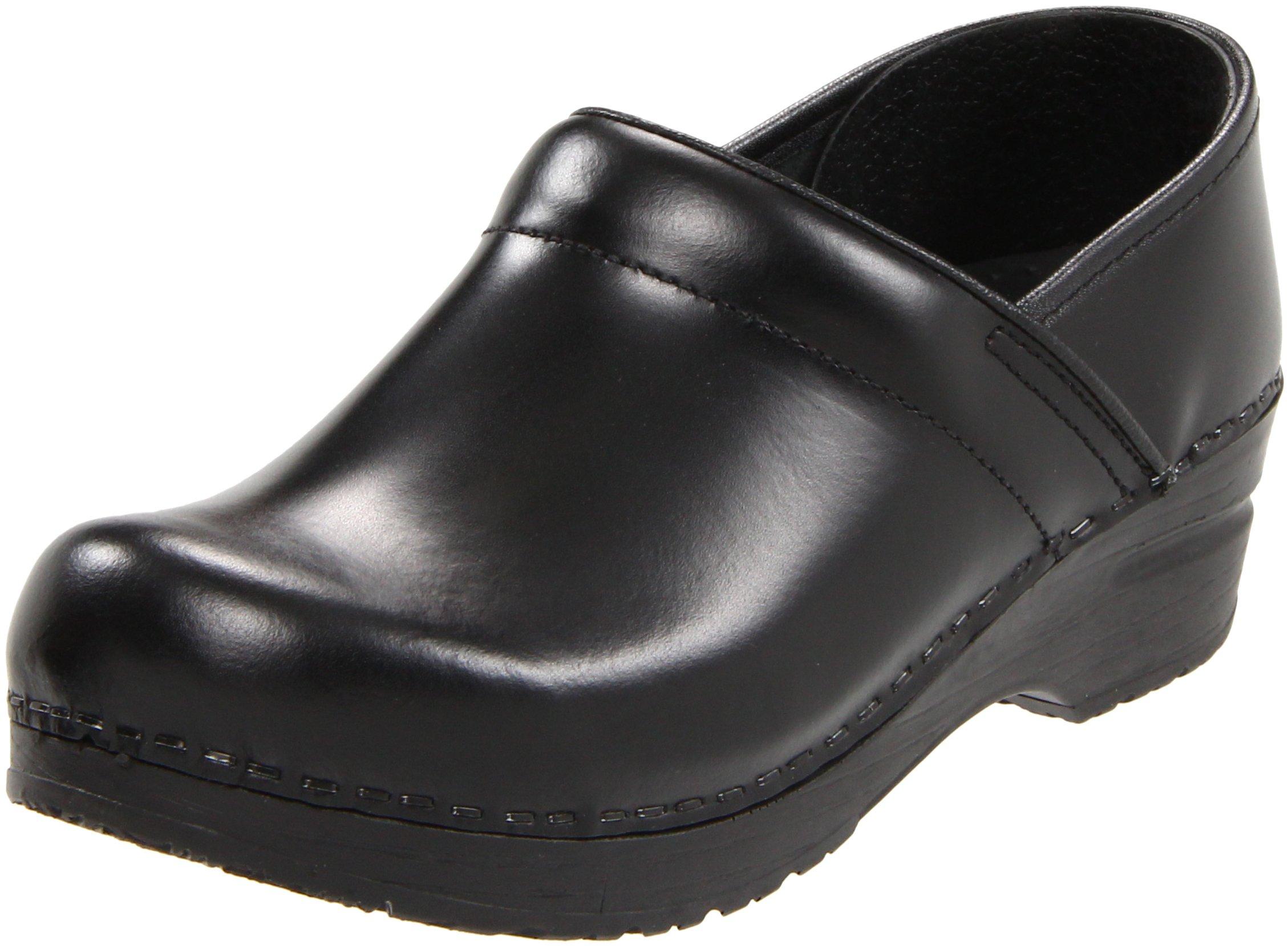 Sanita Clogs Women's Professional Cabrio,Black,EU 38 N