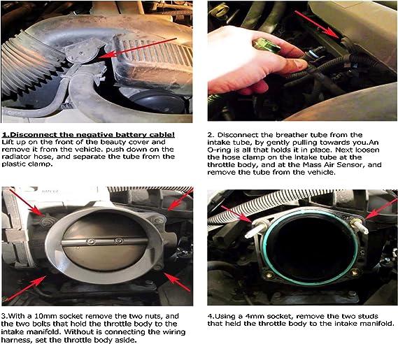 2007-2013 Chevrolet Suburban Airaid Modular Intake Tube Free Shipping IN STOCK!