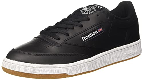 Reebok Club C 85, Zapatillas Hombre, Negro (Int / Black / White / Gum), 45 EU: Amazon.es: Zapatos y complementos