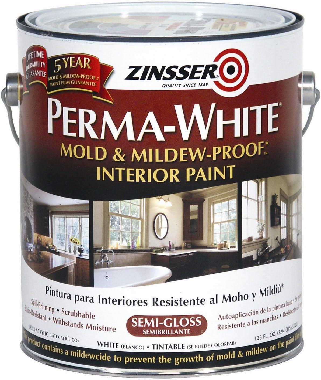 Rust-Oleum Perma-White Mold & Mildew Proof Interior Paint<br />