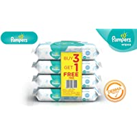 Pampers Fresh Clean Baby Wipes - 64 Wipes/Pack (Buy 3 Packs Get 1)
