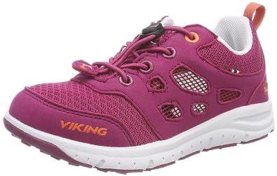 Viking 3-48750, Chaussures Multisport Outdoor Mixte Enfant - Noir - Noir (Black/White 201), 40 EU