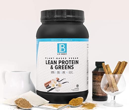LIV Body | Proteína vegetal vegana magra + verdes | Enzimas ...