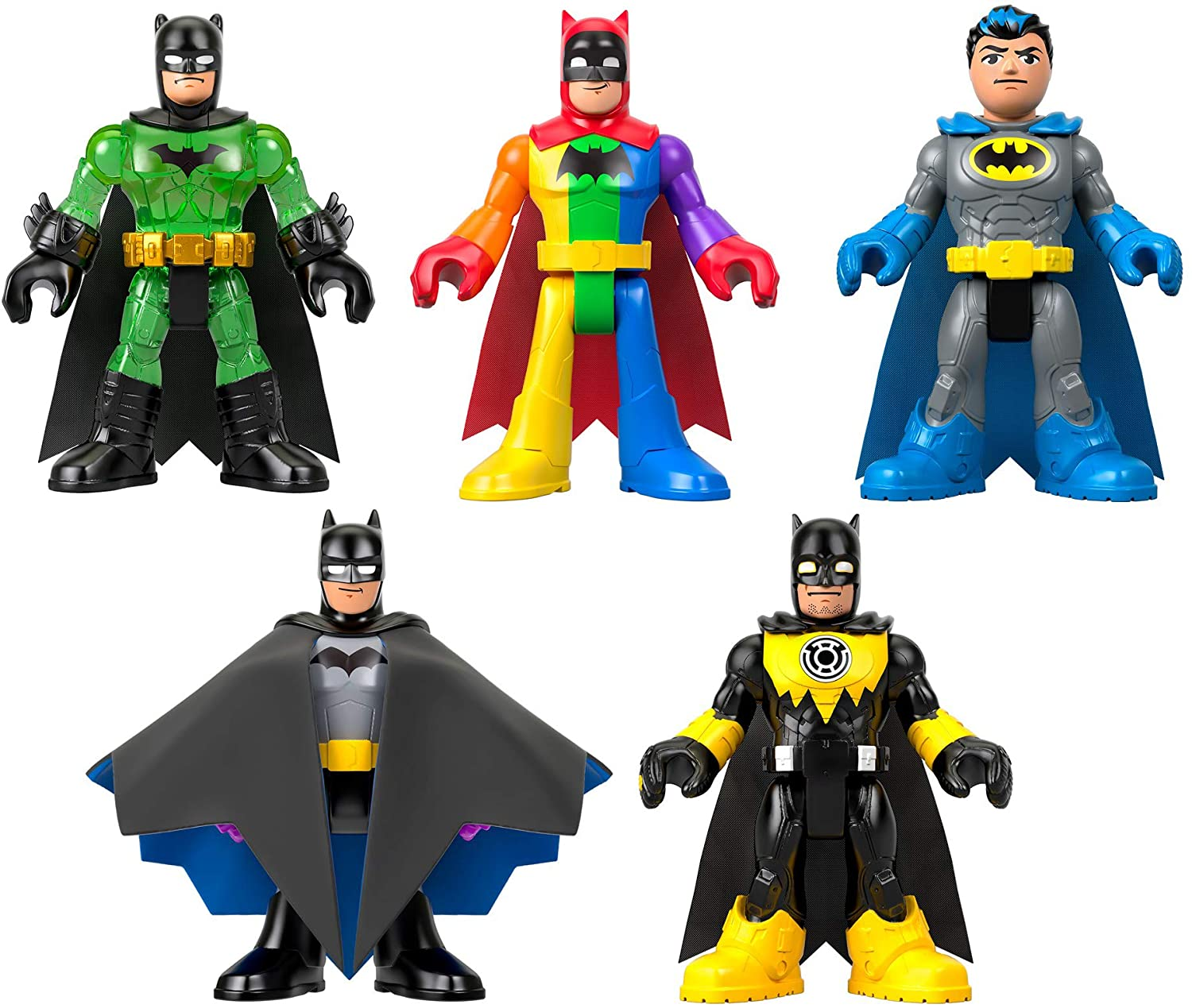Fisher-Price Imaginext DC Super Friends Batman 80th Anniversary Collection