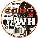 ユニチカ(UNITIKA) PEライン キャスライン エギングスーパーPEIII WH 210m ホワイト