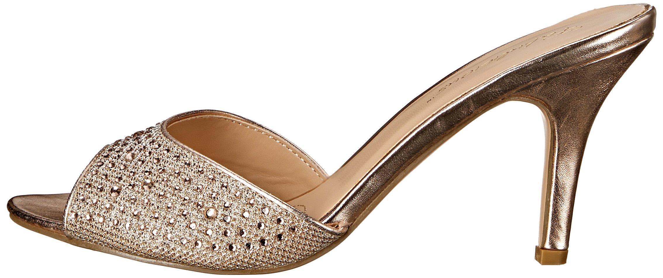 Fabulicious Women's LUCY01/Ggfa Dress Sandal, Gold Glitter Mesh Fabric, 9 M US by Fabulicious (Image #5)