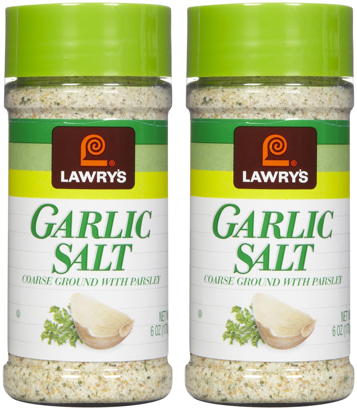Lawry's Garlic Salt, 6 oz, 2 pk