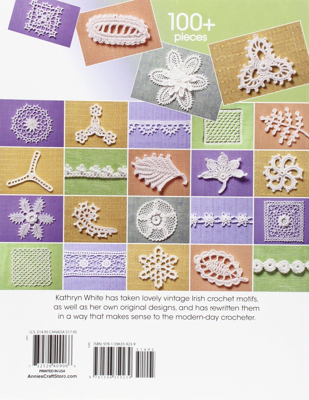 The Go-To Book for Irish Crochet Motifs: Kathryn White: 8601404298769:  Amazon.com: Books