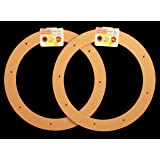 "2 Pack, 12"" Biodegradable Floral Craft Ring, Ez Glueable Wreath Form, for Photo Frame, Candle Ring, Etc"