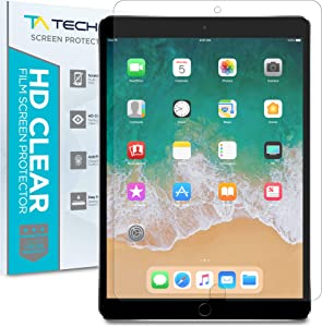 "Tech Armor 4Way 360 Degree Privacy Film Screen Protector for iPad Air 10.5"" (2019) and iPad Pro 10.5"" (2017) [1-Pack]"