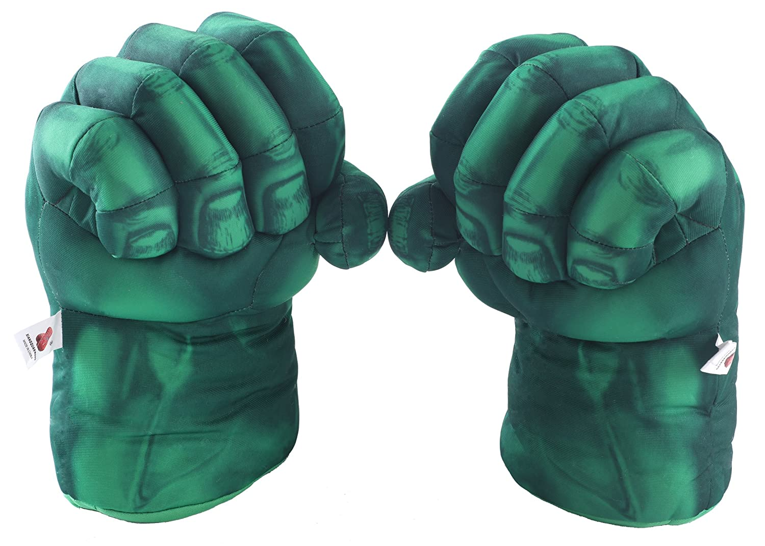 Amazon.com: Fairzoo Hulk Smash Hands Fists Big Soft Plush Gloves ...