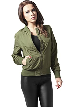 7c4c5cdb Urban Classics Ladies Light Bomber Jacket Streetwear Women's Jacket ...