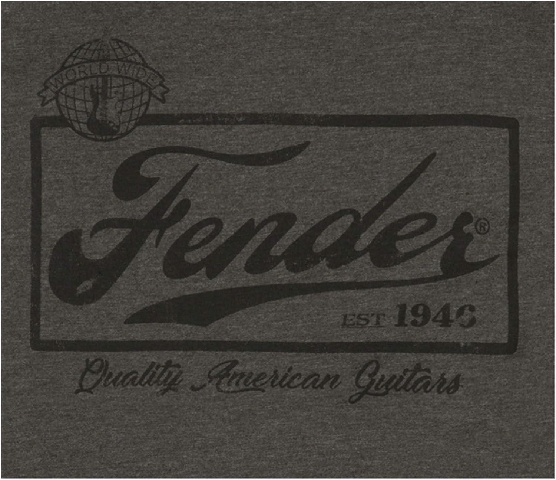 Taille: XL Fender T-Shirt Gris Homme Beer Label Ringer