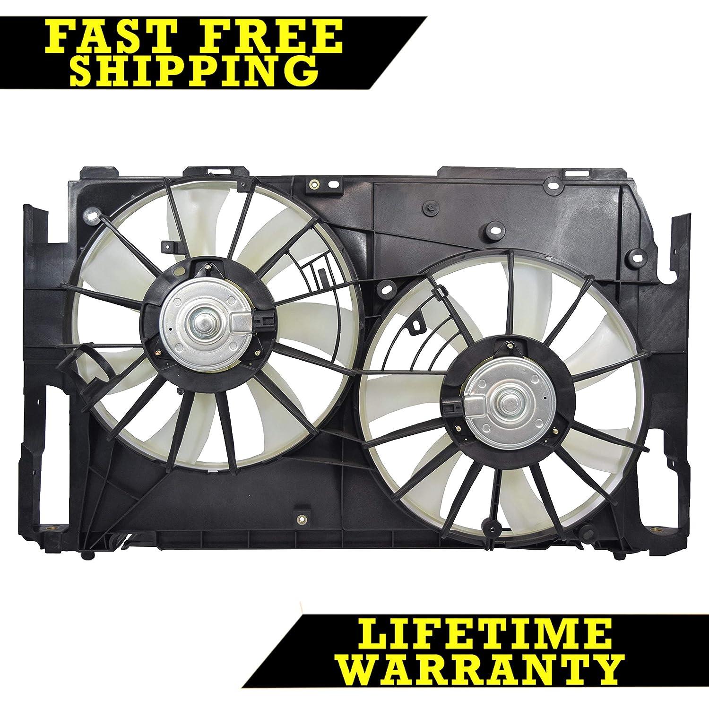 RADIATOR CONDENSER COOLING FAN FOR TOYOTA FITS RAV4 2.4 2.5 L4 TO3117102 Sunbelt Radiators